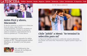 Messi fuera de la selección: así reaccionó el mundo