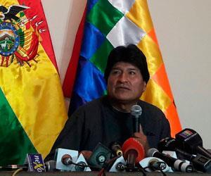 Evo Morales arremete contra la cadena CNN