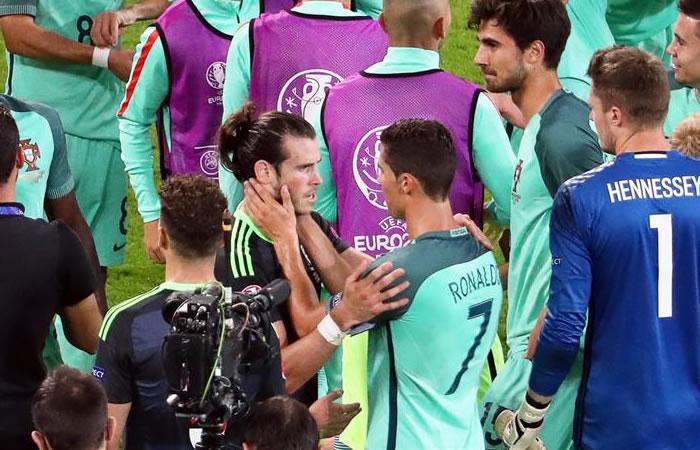 Cristiano Ronaldo y su gran gesto con Gareth Bale