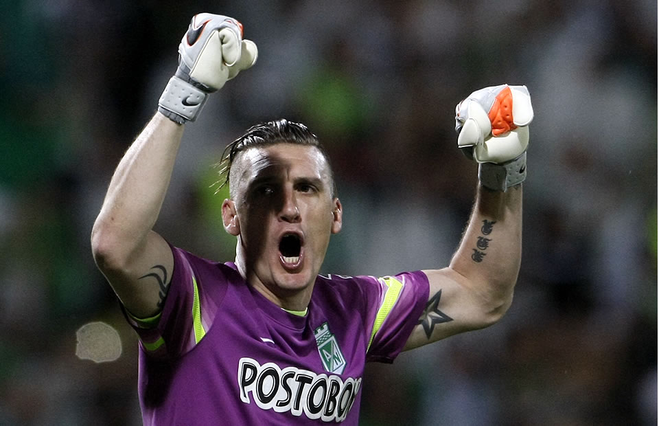 Atlético Nacional clasificó a la gran final de la Copa Libertadores. Foto: EFE