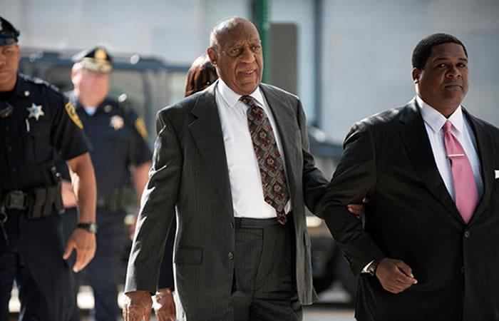 Bill Cosby durante el juicio. Foto: EFE