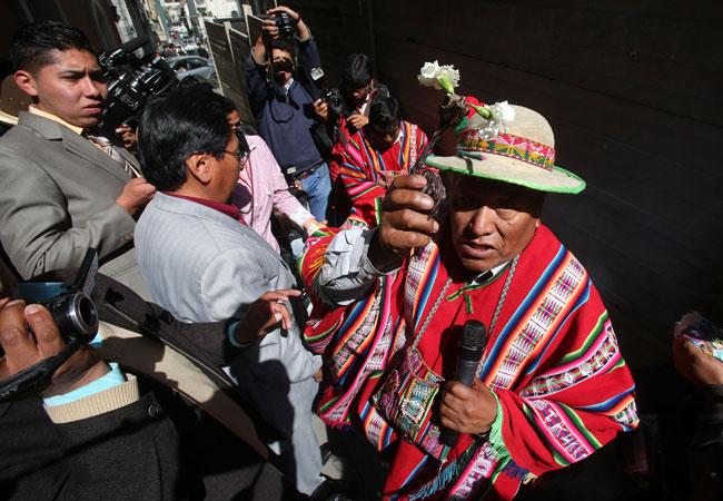Celebran llegada de agosto, mes de la Pachamama