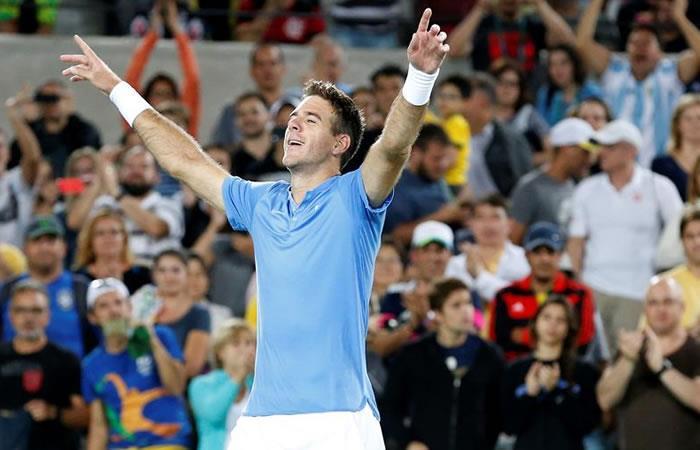 Río 2016: Juan Martín del Potro, soprendido al eliminar a Djokovic
