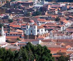 Baja el flujo turístico a Sucre y regiones de Chuquisaca