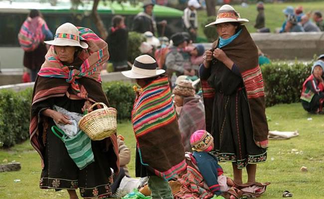 Pobreza en Bolivia. Foto: EFE
