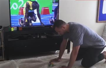 Río 2016: Este hombre es más rápido que Usain Bolt