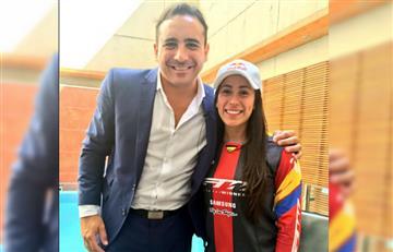Río 2016: Mario Sábato estalla en emoción en la carrera de Mariana Pajón