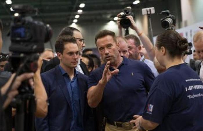 El nuevo look de Arnold Schwarzenegger