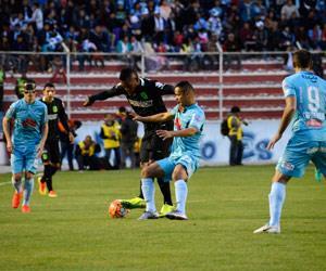 Bolívar no pudo con el Atlético Nacional en La Paz