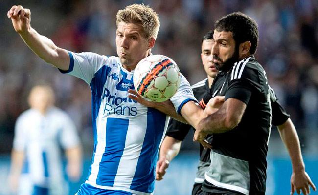 El Göteborg de Smedberg no logró clasificar a la Europa League