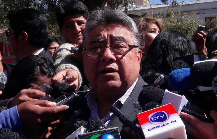 El viceministro fue asesinado por los mineros bolivianos. Foto: ABI
