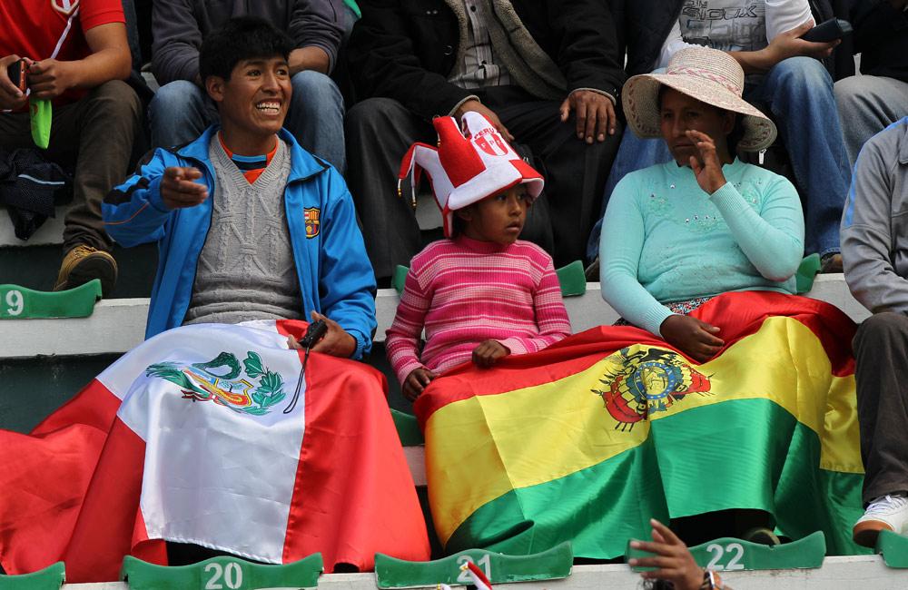 Postales de la victoria de Bolivia ante Perú