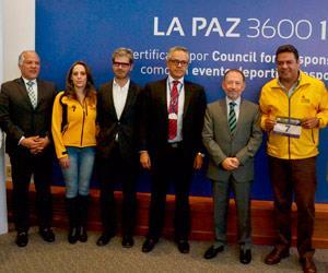 Presentan la versión 2016 de la carrera 'La Paz 3600 10k'