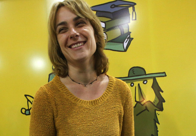 La escritora Sara Mesa reivindica la literatura sobre periferias