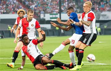 Europa League: Manchester United fracasó en el debut