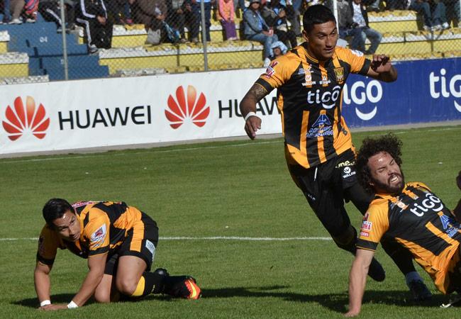 The Strongest no pudo con Real Potosí en La Paz