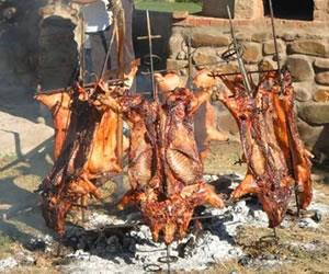 Cocina boliviana: Chancho a la Cruz