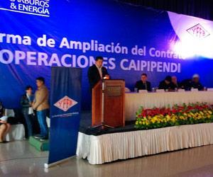 Gobierno y Repsol amplían contrato del bloque Caipipendi hasta 2046