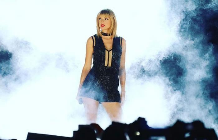 Taylor Swift se suma al reto del maniquí con un divertido final
