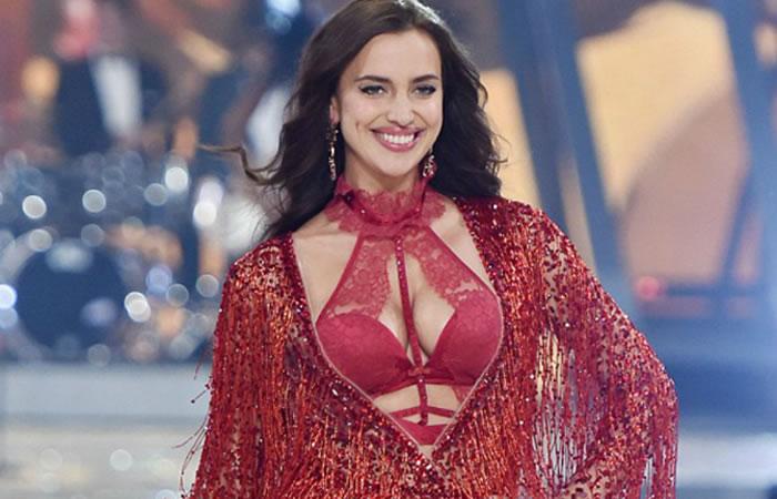 Victoria Secret: Irina Shayk desfila embarazada