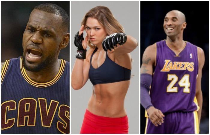 LeBron James, Kobe Bryant salen en defensa de Rounda Rousey