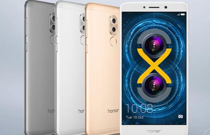 CES: Huawei presenta su móvil Honor 6X