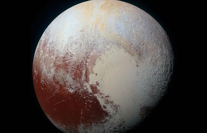 Plutón: Hallan rastros de nieve y hielo vistas solo en la Tierra