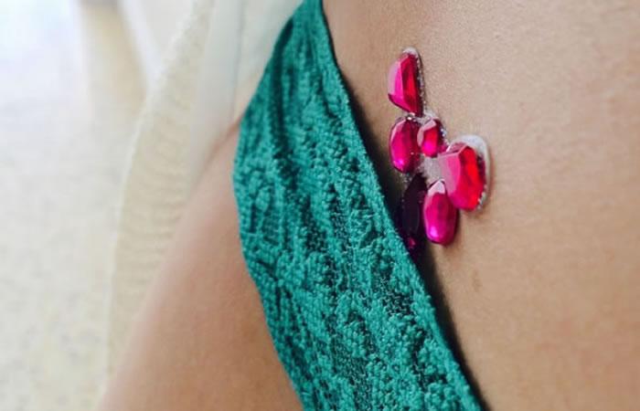 #Vajazzling, la nueva moda de decorar la vagina. Foto: Instagram
