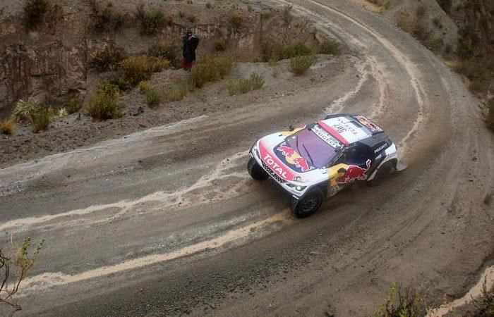 Dakar: Loeb gana quinta etapa y Peterhansel es nuevo líder