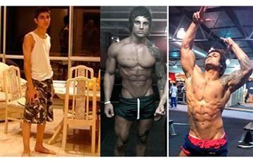 El increíble antes y después de estos fisiculturistas que te sorprenderá