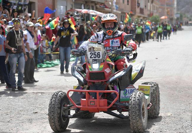 Wálter Nosiglia sufre problemas mecánicos y abandona el Dakar