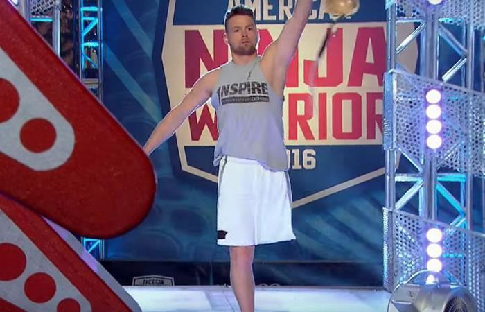 American Ninja Warrior: el hombre que participó con una sola pierna