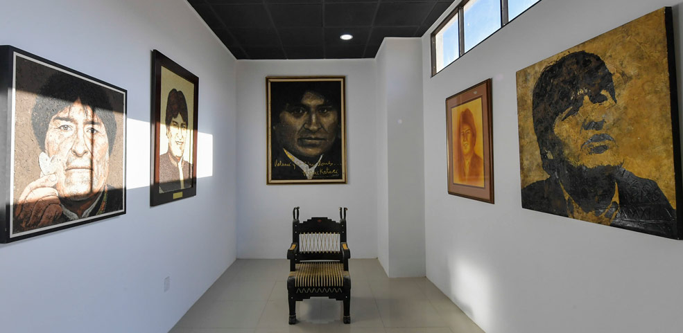 Evo Morales inaugura imponente museo dedicado a su figura