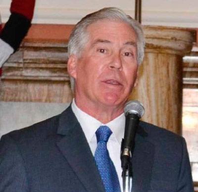 Peter Brennan, encargado de Negocios de la Embajada de Estados Unidos en Bolivia. ABI/Archivo