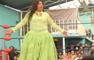 Juanita 'la cariñosa', la luchadora boliviana, símbolo del feminismo