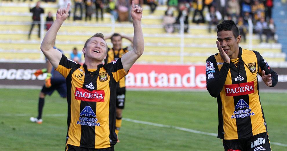 The Strongest pasa a la tercera fase con goleada sobre Wanderers