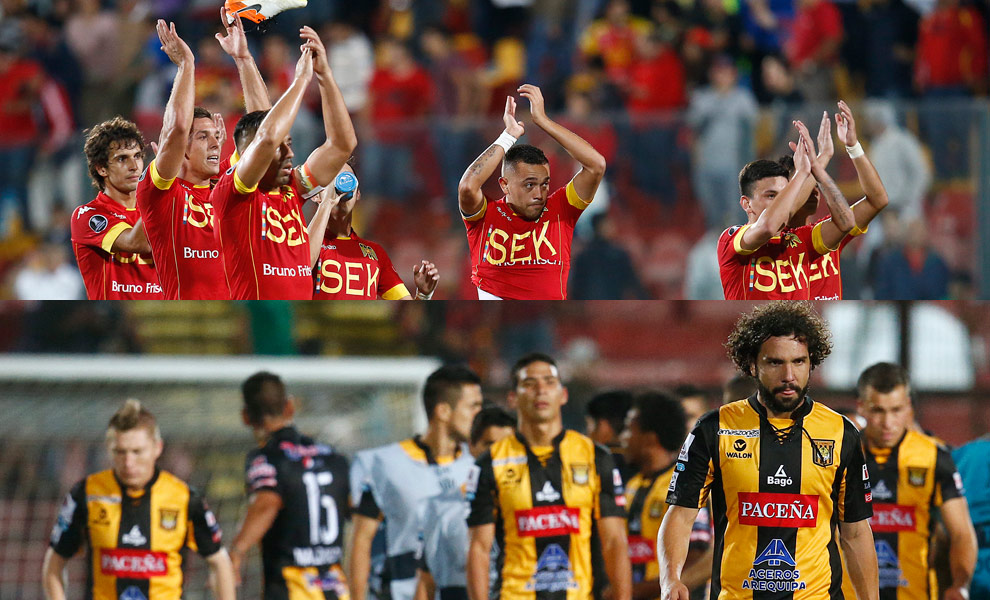 The Strongest saca un empate en su visita a Unión Española