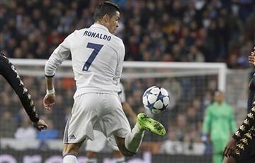 Cristiano Ronaldo le regala al mundo una de las jugadas del año