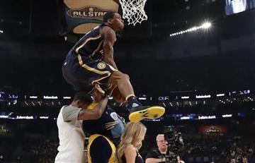 NBA: Mira acá las espectaculares clavadas del Juego de las Estrellas