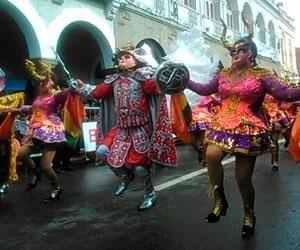 Bolivia muestra su riqueza cultural en la Entrada del Carnaval de Oruro