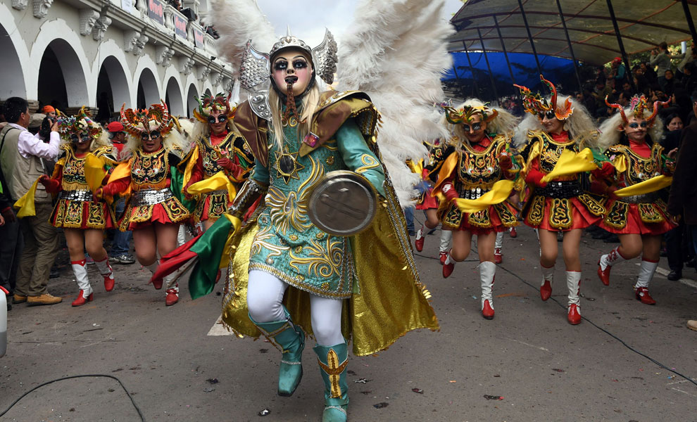 Danza de la diablada. Foto: ABI