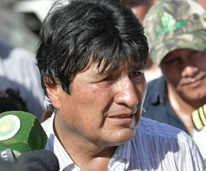 El único fracaso en la lucha antidroga es el de EEUU: Morales