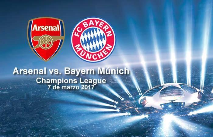 Arsenal vs. Bayern Múnich: Transmisión EN VIVO