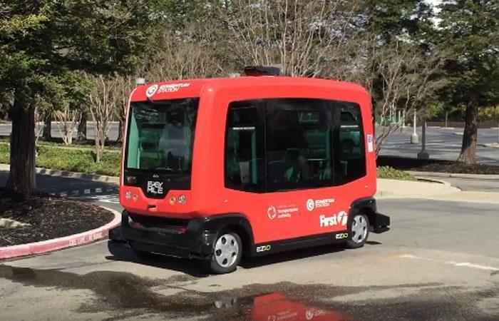 California: Autobús autónomo se toma sus calles