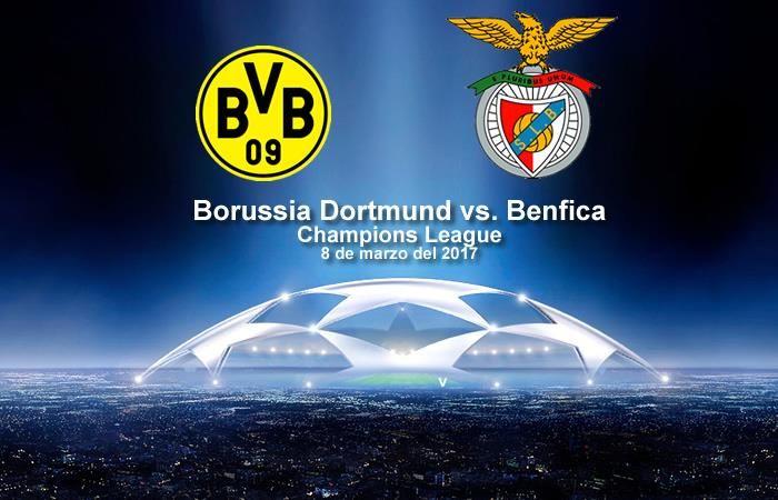 Borussia Dortmund vs. Benfica: Transmisión EN VIVO