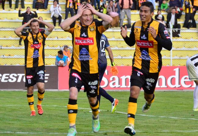 The Strongest recibe la visita del Independiente Santa Fe