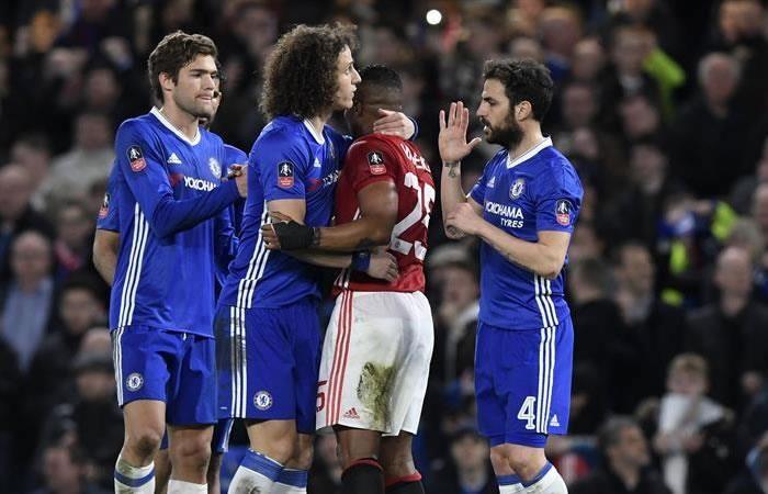 Chelsea venció al United y es semifinalista de la Copa de Inglaterra