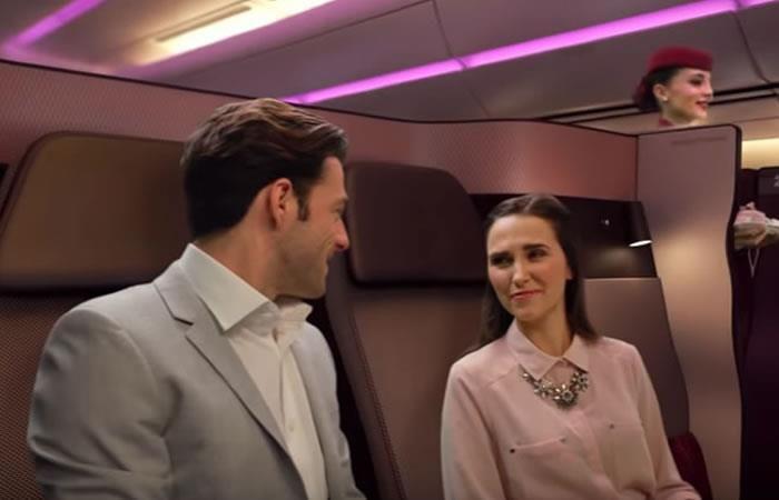 YouTube: ¿Sexo en el aire? Aerolínea ofrece camas en sus vuelos
