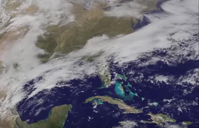 NASA capta imágenes de la tormenta de nieve de EEUU desde el espacio