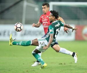Wilstermann complicó al Palmeiras pero no logró sumar